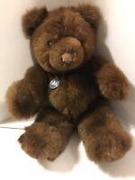 """Gund Collectors Classic Teddy Bear 16"""" w/ 1983 Tag Plush"""
