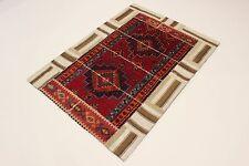 nomades patchwork délavé look antique PERSAN TAPIS tapis d'Orient 1,83 x 1,31