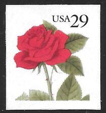 U.S. Scott #2490 29c Red Rose Stamp MNH OG XF