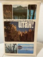 Vintage 1960s Utah Vacation Tourist Travel Booklet Maps Accommodations