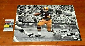 Rare PAUL HORNUNG Signed 16x20 Photo-Green Bay Packers-JSA Authentication