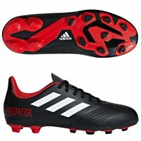 Adidas Kids Shoes Boys Soccer Predator 18.4 Flexible Ground Football DB2323 New