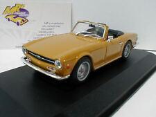 "Maxichamps 940132571 - Triumph TR6 Cabrio Baujahr 1968 in "" orange "" 1:43 NEU"