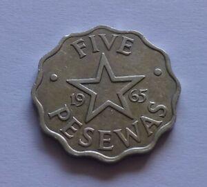 Ghana 5 Pesewas 1965