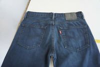 Levi`s 511 Herren Men dünne Jeans Hose W31 L32 Stonwasched Darkblue Top P3