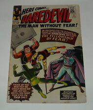 DAREDEVIL # 6 MARVEL COMICS 1965 SILVER AGE KEY ISSUE 1st Mr. FEAR WALLY WOOD