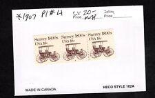 PNC3 1907  Surrey # 4 MNH