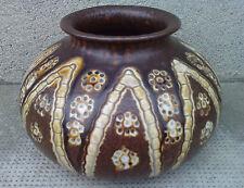 vase art déco PRIMAVERA moderniste décor géométrique