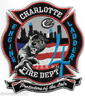 """Charlotte  Station-4  """"Protectors of the Lair"""", NC (4"""" x 4.5"""" size) fire patch"""