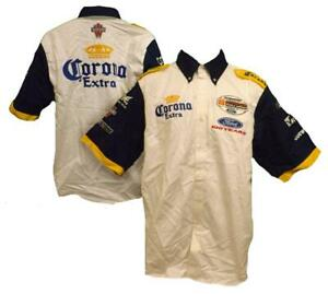 New Beer Corona Extra Walker Racing Mens Size S Small Button Up Shirt