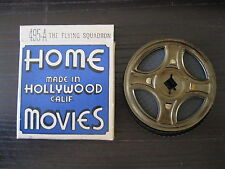 VINTAGE 8MM MOVIE THE FLYING SQUADRON #495-A~HOLLYWOOD INC HOME MOVIES~VG