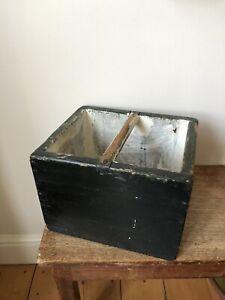 Vintage Handmade Garden Trug / Planter / Window Box /Original Paint