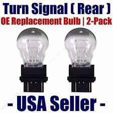 Rear Turn Signal/Blinker Light Bulb 2-pack Fits Listed Ford Vehicles - 4057K