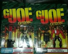 G.I. Joe Extreme Lt. Stone and Inferno Mint in Package Brand New