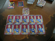 2014 TEAM COACH SILVER UNUSED CODE + CHECKLIST BRISBANE LIONS TEAM SET 11 CARDS