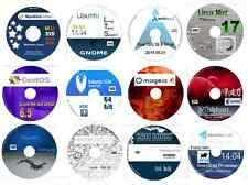 Linux Collection No3-12 Disks 64 bit inc, Arch Mint Debian Pinguy CentOS Kali &