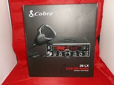 Cobra 29LX LCD 40 ch. CB Radio, w/Clock NEW!!