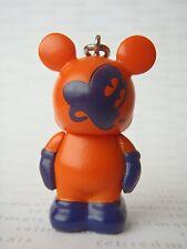 Disney Vinylmation Oh Mickey! SHOCKED FACE ORANGE & BLUE Jr Figure w/Clip + Foil