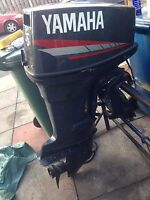 YAMAHA 55HP OUTBOARD BREAKING FUEL PUMP ONLY