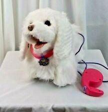 Fur Real Friends white spaniel dog puppy plush interactive walk bark pants anima