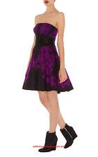 New KAREN MILLEN Lace Print Prom Evening Ladies Party Races Tutu Dress Size 12