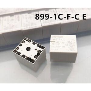 1Pc SONG CHUAN 899-1C-F-C E 12VDC Power Relay 5Pins 10A 277VAC