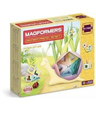 MAGFORMERS My First Pastel (30 Piece) Magnetic Building Set