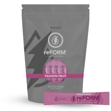 TruVision reFORM Passion Fruit Flavor Energy Accelerator Drink 30 Stick Bag Pack