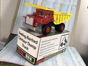 Dinky Toys #924 Aveling-Barford Centaur Dump Truck MinNMBox red/yellow