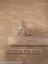 "Emergeny/Survival Tool:  Folding Scissors 3 1/4"" Open, 1"" x 2"" Closed w/CASE"