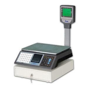 CS3MXC Digital Retail Shop Cash Register Scale with PLU Keys Class III Approved