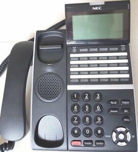 NEC DT800 series ITZ-24D-3A(BK) IP phone