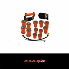 Mitsubishi L200 Suspension Bushes Rear Leaf Spring Chassis&Shackles Kit in Poly