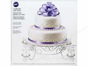 Votive Candlelight Cake Stand from Wilton 351 NEW