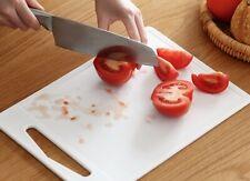 "15x10"" Nonslip Plastic Chopping Board Food Cutting Kitchen Cook Supplies"