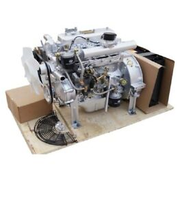 Diesel Engine 37 HP 4 cylinder Industrial Motor Replacement