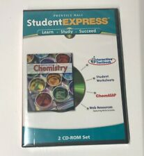 Prentice Hall Student Express CHEMISTRY 2 CD-Rom Set Interactive Textbook NEW