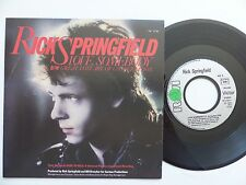 RICK SPRINGFIELD Love somebody PB 3738 FRANCE Discotheque RTL