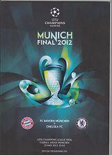 Orig.PRG  Champions League   2011/12  FINALE   BAYERN MÜNCHEN - FC CHELSEA ! TOP