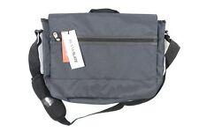 BLANKSLATE Solo MAC502 Laptop Reise Kuriertasche Blau Grau Tasche Nwt Neu