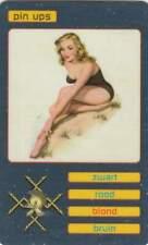 Telefoonkaart Phonecard PTT Telecom kwartet - Pin Ups / Blond