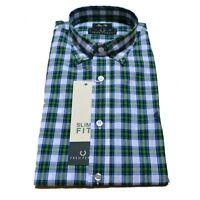 Camicia Fred Perry Uomo Camicia Men shirt button down slim fit popeline v0034