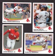 2013 Topps BOSTON RED SOX Team Set w Update World Series Champ 38 cards Mint