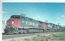 Southern Pacific  GE Dash9-44CW  #8140   Photo 1994  Reprint  PC RR  8