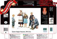 Master Box 3588 WWII Era Eastern Region Peasants Europe (5Fig.) plastic kit 1/35