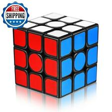 Speed Cube 3X3X3 With New Anti-Pop Structure Smooth Magic Cube(Sticker)