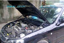 99-06 Mazda Protege 323 BJ Black Strut Gas Lift Hood Shock Stainless Damper Kit
