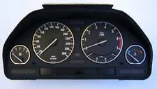 D BMW E34 5er  5 Serie   Chrom Tachoringe Edelstahl poliert 4 Ringe