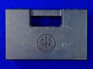 Vintage Beretta Italy Italian Pistol Gun Plastic Case Holder Box