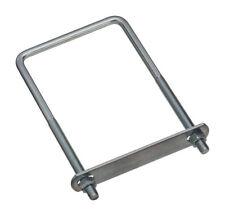 National Hardware 4 in. W x 7 in. L Coarse Zinc-Plated Steel Square U-Bolt